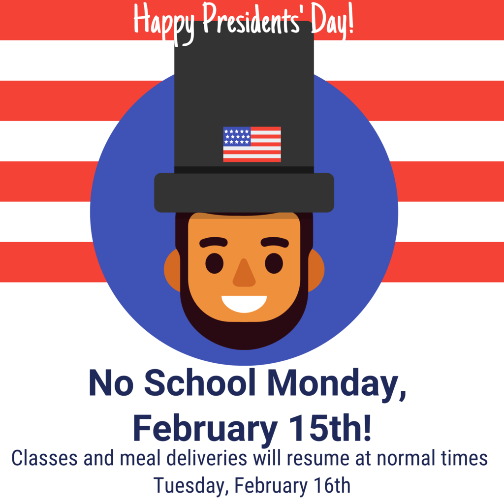 No School Presidents Day Flyer